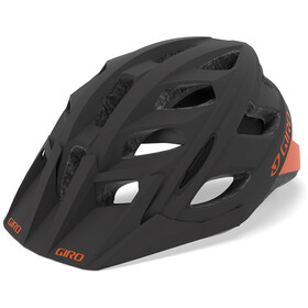 Giro Hex Helmet matte warm black/orange